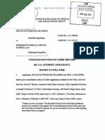 Notice-Clerk Mistake CA11 No. 12-11028 US Attorney on Docket