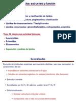Temas 11 y 12 - Lipidos Farmacia