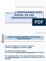 Responsabilidad Social de Las Organizaciones