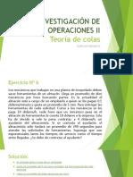 INVESTIGACIÓN DE OPERACIONES II-ejercicioResuelto