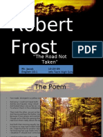Robert Frost Ppt Edited