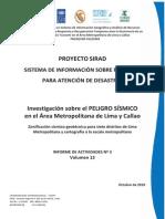 Zonificacion Sismico-geotecnica Para 7 Distritos de Lima