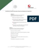 Coordinacion de Grupos Técnicos para el Desarrollo de Estandares