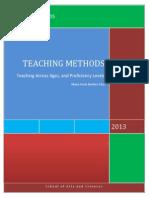 Teaching Methods Final Paper Rhina Arely Benitez LIC VIII