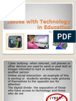 issues with technology in education powerpoint educ 201