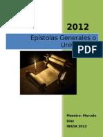 Material original Epístolas Generales