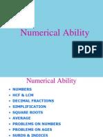 Numerical AbilityRCS2