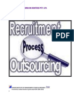 25140412 Project Report on Scope of Recruitment Process Outsourcing