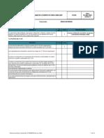 Lista de Chequeo Requisitos Iso 18001