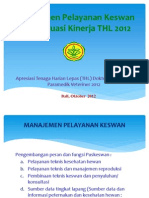 Evaluasi Tenaga Harian Lepas Dokter Hewan & Paramedik - 2012 New