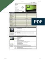 Generador Pramac 60kva Especificaciones Tecnicas