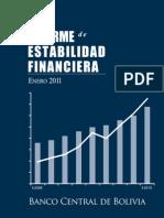 Informe de Estabilidad Financiera 2011