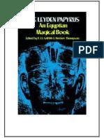 Leyden Papyrus