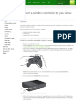 Connect Your Wireless Controller | Xbox One Accessories - Xbox.com