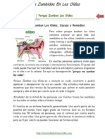 016   Que es Tinnitus │ Porque Zumban Los Oidos