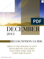 December Recognition