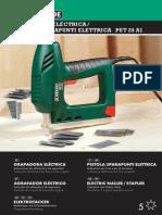 Grapadora eléctrica PET 25 A1