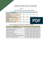 evaluaciones plan de la unidad sil