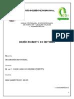 CASO DE ESTUDIO DISEÑO ROBUSTO