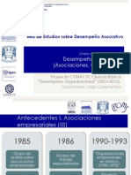 Presentación Red de Estudios sobre Desempeño Asociativo (REDA)