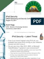 S Hogg IPv6 Security