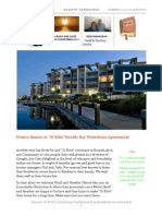 """St Kitts"" Double Bay Waterfront Apartments Summer Newsletter 2013-14 Sunshine Coast."