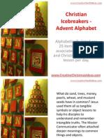 Christian Icebreakers - Advent Alphabet