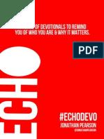 Echo Devotional