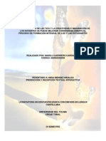ANÁLISIS CRÍTICO LITERARIO - Marilu Guerrero Carrascal
