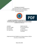 Analisis Del Proceso de Atencion Al Cliente Tesis Completa