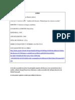Fichas bibliográficas 1° cap