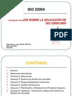 ISO 22004-Orientacion sobre la aplicacion de ISO 22000:2005