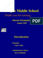 OMS Parent Fall Annual Orientation WEB