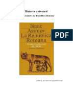 Isaac Asimov - La Republica Romana