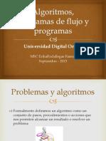 Algoritmos, Diagramas de Flujo y Programas