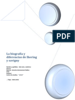 La biografía y diferencias de Ihering y savigny