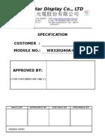 Datasheet Lcd 20x4