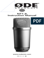 Nt1-A Product Manual