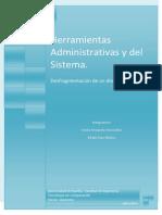 Herramientas Administrativas y Del Sistema