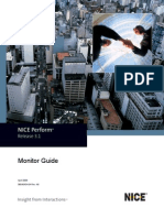 NICE Perform Monitor Guide