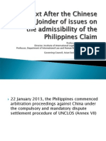 Examining the UNCLOS Dispute Settlement Procedure in the Settlement of