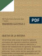 Ingenieria electrica II  1°clase
