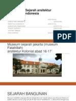 sejarah arsitektur kolonial