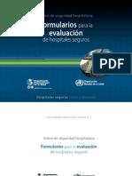 Formularios Para La Evaluacion de Hospitales Seguros