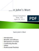 nfsc 345 saint johns wort ppt