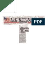 NY Post - Vendor Killed