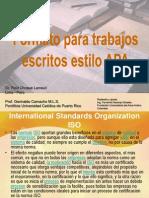 Normas APA - Fernando Naranjo