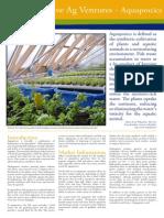 Small Articles and Information - Aquaponics