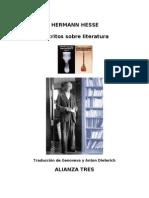 Hesse, Hermann - Escritos Sobre Literatura