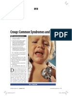 Croup. Sindrome